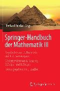 Cover-Bild zu Springer-Handbuch der Mathematik III (eBook) von Dempe, Stephan (Beitr.)