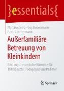 Cover-Bild zu Außerfamiliäre Betreuung von Kleinkindern von Zemp, Martina