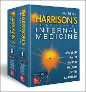 Cover-Bild zu Harrison's Principles of Internal Medicine (Vol. 1 & Vol. 2) von Larry Jameson, J.