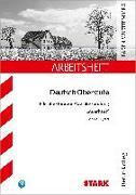 Cover-Bild zu STARK Arbeitsheft Deutsch - Auerhaus von Kliewer, Annette