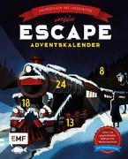 Cover-Bild zu Mein Escape-Adventskalender: Fahrschein ins Ungewisse - Mit Decoderfolie