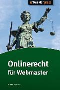 Cover-Bild zu Rohrlich, Michael: Onlinerecht für Webmaster (eBook)