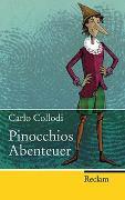Cover-Bild zu Pinocchios Abenteuer von Collodi, Carlo