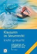 Cover-Bild zu Klausuren im Steuerrecht - leicht gemacht von Schinkel, Reinhard