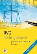 Cover-Bild zu RVG - leicht gemacht von Leicht, Cornelia S.