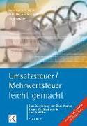 Cover-Bild zu Umsatzsteuer / Mehrwertsteuer - leicht gemacht von Mücke, Stefan