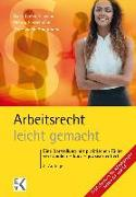 Cover-Bild zu Arbeitsrecht - leicht gemacht von Hauptmann, Peter-Helge