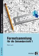 Cover-Bild zu Formelsammlung für die Sekundarstufe 1 (eBook) von Bettner, Marco