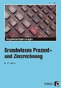 Cover-Bild zu Grundwissen Prozent- und Zinsrechnung von Bettner, Marco