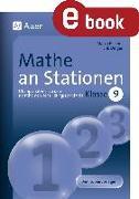 Cover-Bild zu Mathe an Stationen Klasse 9 (eBook) von Bettner, Marco