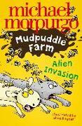 Cover-Bild zu Alien Invasion! (Mudpuddle Farm) (eBook) von Morpurgo, Michael