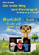 Cover-Bild zu Der erste Weg zum Klavierspiel (Stufe 1) (eBook) von Grosche, Peter