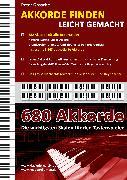 Cover-Bild zu Akkorde finden leicht gemacht (eBook) von Grosche, Peter
