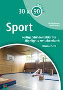 Cover-Bild zu 30 x 90 Minuten: Sport von Gielen, David