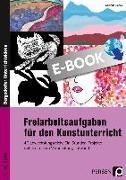 Cover-Bild zu Freiarbeitsaufgaben für den Kunstunterricht (eBook) von Blahak, Gerlinde
