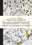 Cover-Bild zu Johanna Basford's Enchanted Forest Journal von Basford, Johanna (Illustr.)