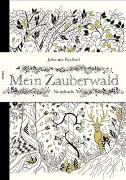 Cover-Bild zu Mein Zauberwald - Notizbuch von Basford, Johanna