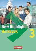 Cover-Bild zu New Highlight, Allgemeine Ausgabe, Band 3: 7. Schuljahr, Workbook von Berwick, Gwen
