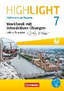 Cover-Bild zu Highlight, Mittelschule Bayern, 7. Jahrgangsstufe, Workbook mit interaktiven Übungen auf scook.de - Lehrerfassung, Für M-Klassen - mit CD-Extra und Audios online von Berwick, Gwen