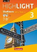 Cover-Bild zu English G Highlight, Hauptschule, Band 3: 7. Schuljahr, Workbook mit Audio-CD, Audios online und CD-ROM (e-Workbook) - Lehrerfassung von Berwick, Gwen