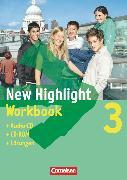 Cover-Bild zu New Highlight, Allgemeine Ausgabe, Band 3: 7. Schuljahr, Workbook - Lehrerfassung (mit CD-ROM und Text-CD) von Berwick, Gwen