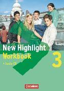 Cover-Bild zu New Highlight, Allgemeine Ausgabe, Band 3: 7. Schuljahr, Workbook mit Text-CD von Berwick, Gwen