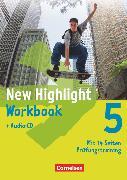 Cover-Bild zu New Highlight, Allgemeine Ausgabe, Band 5: 9. Schuljahr, Workbook mit Text-CD von Berwick, Gwen