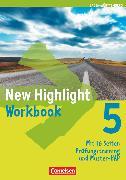 Cover-Bild zu New Highlight, Baden-Württemberg, Band 5: 9. Schuljahr, Werkrealschulen (3 Wochenstunden), Workbook von Berwick, Gwen