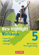 Cover-Bild zu New Highlight, Allgemeine Ausgabe, Band 5: 9. Schuljahr, Workbook - Lehrerfassung (mit CD-ROM und Text-CD) von Berwick, Gwen