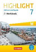 Cover-Bild zu Highlight, Mittelschule Bayern, 7. Jahrgangsstufe, Workbook mit Audios online, Für M-Klassen von Berwick, Gwen