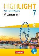 Cover-Bild zu Highlight, Mittelschule Bayern, 7. Jahrgangsstufe, Workbook mit Audios online, Für R-Klassen von Berwick, Gwen