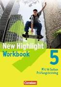 Cover-Bild zu New Highlight, Allgemeine Ausgabe, Band 5: 9. Schuljahr, Workbook von Berwick, Gwen