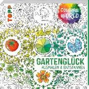 Cover-Bild zu Colorful World - Gartenglück von Schwab, Ursula
