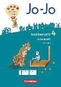 Cover-Bild zu Jo-Jo Mathematik, Allgemeine Ausgabe 2018, 4. Schuljahr, Arbeitsheft Fördern von Huck, Lorenz