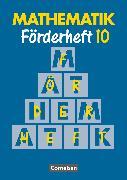 Cover-Bild zu Mathematik Förderschule, Förderhefte, Band 10, Heft von Gathen, Heribert