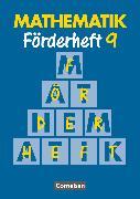 Cover-Bild zu Mathematik Förderschule, Förderhefte, Band 9, Heft von Gathen, Heribert