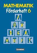 Cover-Bild zu Mathematik Förderschule, Förderhefte, Band 6, Heft von Gathen, Heribert