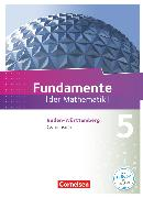 Cover-Bild zu Fundamente der Mathematik, Baden-Württemberg, 5. Schuljahr, Schülerbuch von Ahrens, Hans