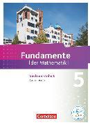 Cover-Bild zu Fundamente der Mathematik, Sachsen-Anhalt, 5. Schuljahr, Schülerbuch von Ahrens, Hans