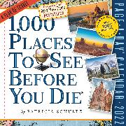 Cover-Bild zu Workman Calendars: 1,000 Places to See Before You Die Page-A-Day Calendar 2022