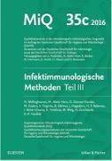 Cover-Bild zu MIQ Heft: 35c Infektionsimmunologische Methoden Teil 3 von Podbielski, Andreas (Hrsg.)