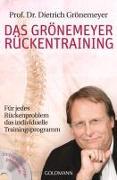 Cover-Bild zu Das Grönemeyer Rückentraining von Grönemeyer, Dietrich