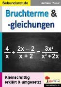 Cover-Bild zu Bruchterme & -gleichungen von Theuer, Barbara