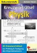 Cover-Bild zu Kreuzworträtsel Physik (eBook) von Theuer, Barbara