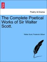 Cover-Bild zu The Complete Poetical Works of Sir Walter Scott von Scott, Walter