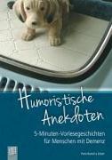 Cover-Bild zu Humoristische Anekdoten von Bartoli-Eckert, Petra