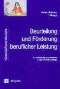 Cover-Bild zu Beurteilung und Förderung beruflicher Leistung von Schuler, Heinz (Hrsg.)