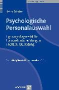 Cover-Bild zu Psychologische Personalauswahl (eBook) von Schuler, Heinz