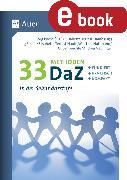 Cover-Bild zu 33 Methoden DaZ in der Sekundarstufe (eBook) von Roche, Jörg (Hrsg.)