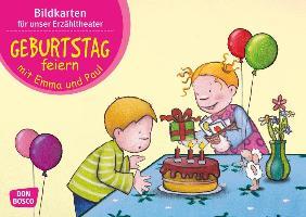 Cover-Bild zu Geburtstag feiern mit Emma und Paul von Lehner, Monika